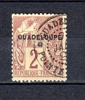 GUADELOUPE N° 15  OBLITERE COTE 2.50€    TYPE ALPHEE DUBOIS - Oblitérés