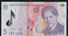 ROMANIA P118c 5 LEI (20)07 2007  UNC. - Rumania
