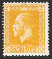 New Zealand  - Scott #163 MH - 1907-1947 Dominion