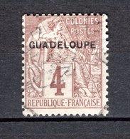 GUADELOUPE N° 16  OBLITERE COTE 6.25€   TYPE ALPHEE DUBOIS - Oblitérés