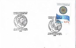 31583. Carta MADRID 2006. Fechador Congreso Matematicos. Matematicas Inauguracion - 1931-Hoy: 2ª República - ... Juan Carlos I