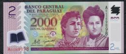PARAGUAY P228a 2000 GUARANIES 2008 #A      UNC. - Paraguay