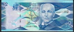 BARBADOS P73 2 DOLLARS 2013 #H         UNC. - Barbados