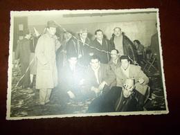 B715 Foto Di Gruppo Festa Carnevale Photofilm Torino Cm14.5x10 Pieghina Angolo - Non Classificati