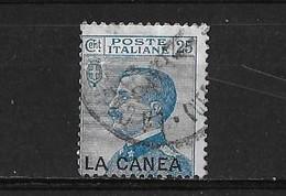 Bureau Italien De La Canée Yv. 17 O. - Crète