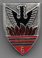 6e Rt Chasseurs D' Afrique - Insigne émaillé Drago 157 - Armée De Terre