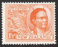 New Zealand  - Scott #167 MH - 1907-1947 Dominion