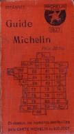 Guide Rouge MICHELIN, Année 1927. 990 Pages. 3 Signets. Bon état. Seulement, Traces D'usure Sur Les Couvertures. - Auto