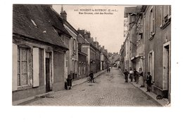 CPA 28 - Nogent Le Rotrou ( E Et L ) Rue Giroust, Côté Des Moulins - Nogent Le Rotrou