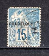 GUADELOUPE N° 19  OBLITERE COTE 6.00€    TYPE ALPHEE DUBOIS  VOIR DESCRIPTION - Oblitérés