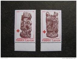 TB Paire N° 2116 A Et N° 2117 A, Neufs XX. Timbres De Carnets. - France