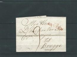 Précurseur  Anvers à Brugge 16.06.1805 - 1830-1849 (Belgique Indépendante)
