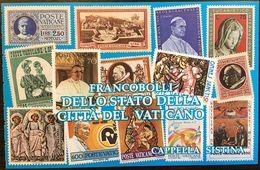 """Vaticano 1991 """"Capella Sistina""""  (Michelangelo Buonarotti) Libretto Carnet Heft Booklet Michel-No.1024+1025+1030 ** MNH - Mitologia"""