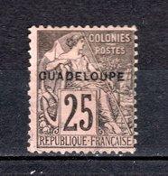 GUADELOUPE N° 21  OBLITERE COTE 5.00€    TYPE ALPHEE DUBOIS - Oblitérés