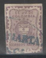 Colombie - YT 35 Oblitéré - 1867 - Colombie