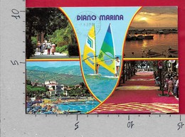 CARTOLINA VG ITALIA - DIANO MARINA (IM) - Vedutine Multivue - 10 X 15 - ANN. 1987 - Imperia