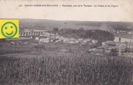 St-Germain-en-Laye - Panorama Pris De La Terrasse - Le Viaduc Et Les Vignes - St. Germain En Laye