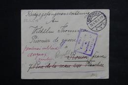 ALLEMAGNE - Enveloppe De Sackingen Pour Prisonnier à Rouen , Redirigé Vers Avignon En 1916 - L 22440 - Covers & Documents