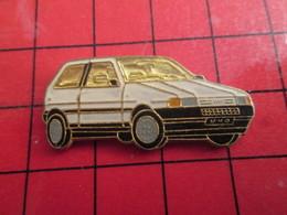 512F Pins Pin's / Rare & De Belle Qualité  THEME : AUTOMOBILES / FIAT UNO BLANCHE - Fiat