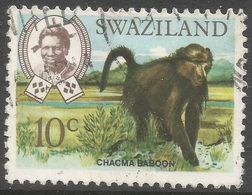 Swaziland. 1968 Animals. 10c Used. SG 168 - Swaziland (1968-...)