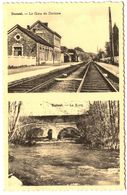 DURNAL   La Gare De Dorinne  Et Le Bocq. - Yvoir
