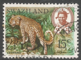 Swaziland. 1968 Animals. 15c Used. SG 168 - Swaziland (1968-...)