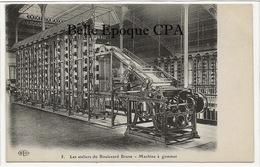 75 - PARIS 14 - Les Ateliers Du Boulevard Brune - #5 - Machine à Gommer +++ ELD / E. Le Deley ++++ Parfait état - Arrondissement: 14