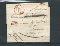 Précurseur  Alost Fontaine L Evèque 18.06.1840 - 1830-1849 (Independent Belgium)