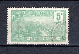 GUADELOUPE N° 58 OBLITERE COTE  0.75€   MONT  HOUELMONT - Oblitérés