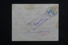 ALLEMAGNE - Enveloppe De Mülheim Pour Bureau Des Renseignements Sur Les Prisonniers De Guerre En 1916 - L 22442 - Covers & Documents