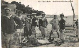 JUAN LES PINS .... EXERCICES DES BRANCARDIERS ... SANTE MEDECINE ... - Manoeuvres