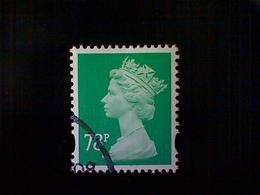 Great Britain, Scott #MH371, Used(o), 2007, Machin: Queen Elizabeth II,78p, Emerald - Machins