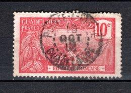 GUADELOUPE N° 59 OBLITERE COTE  0.50€   MONT  HOUELMONT  VOIR DESCRIPTION - Oblitérés