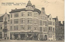 VILVORDE - VILVOORDE : Hôtel Coomans - Square Du Chastel - CPA PEU COURANTE - Courrier De 1939 - Vilvoorde