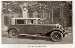 """#21 Reproduction Photo Publicitaire 1928 """"La 12 CV 6 Cylindres Panhard"""", Sur Carte Postale - Voitures De Tourisme"""