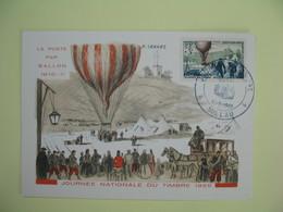 Carte  - Journée Du Timbre  1955  Millau - France