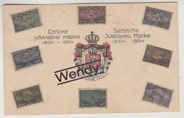 Serbië (Serbische Jubiläums Marke 1804/1904) - Serbien