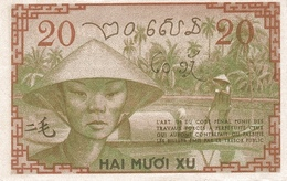 FRENCH INDOCHINA  P. 86d 20 C 1939 UNC - Indochine
