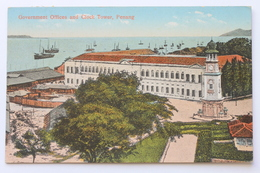 Government Offices And Clock Tower, Penang Malaysia - Malaysia