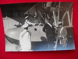 FOTOGRAFIA   SIAI S-59 IL RE Con MADDALENA 1928 - Aviation