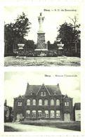 DHUY   N.D. De Beauraing Et Maison Communale. - Eghezée