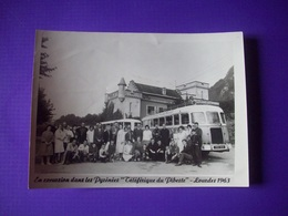 Photo Excursion à Lourdes 1963 En Autobus - Anonieme Personen
