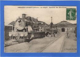 08 ARDENNES - AMAGNE LUCQUY Le Dépôt, Rentrée Des Machines - France