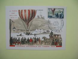 Carte  - Journée Du Timbre  1955  Vieux-Charmont - France