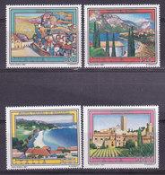 ITALIE, N° 1491/1494 , Matera,Garda,Gallura,Tarquinia , Neuf**, ( W1904/024) - 1946-.. République