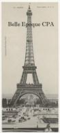 """75 - PARIS 07 - Tour Eiffel - #10 +++ C. L. C. / ELD / E. Le Deley ++++ Carte Postale Dite """" Mignonnette """" - Arrondissement: 07"""