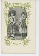 """ENFANTS - Jolie Carte Fantaisie Enfants """"UN ORAGE """" - Carte Pub Pour CHICORÉE DANIEL VOELCKER COUMES à BAYON (54) - Enfants"""