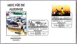 INUNDACIONES EN ALEMANIA 2013 - Floods In Germany. Helicoptero - Helicopter. Magdeburg 2013 - Geología