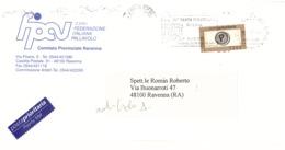 ANNULLO TARGHETTA SAGRA PROVINCIALE DELL'UVA - Affrancature Meccaniche Rosse (EMA)