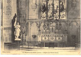 Carte Postale Ancienne De LA SELLE Sur Le BIED - France